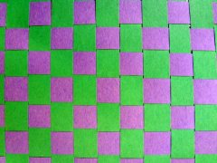 Green-Purple Weave