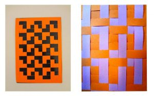 L-shape Tiling Weave