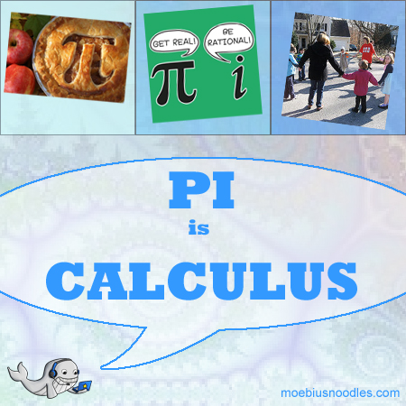 Moby Says Pi is Calculus