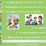 Adaptations for toddlers and young kids
