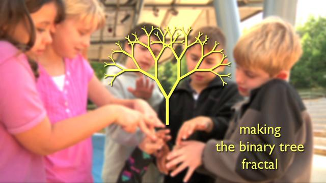 Kids Make Binary Tree