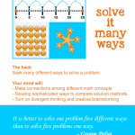 Math mind hacks: Solve it many ways