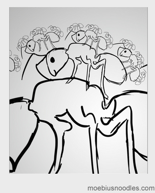 Icon Fractal Sketch 3
