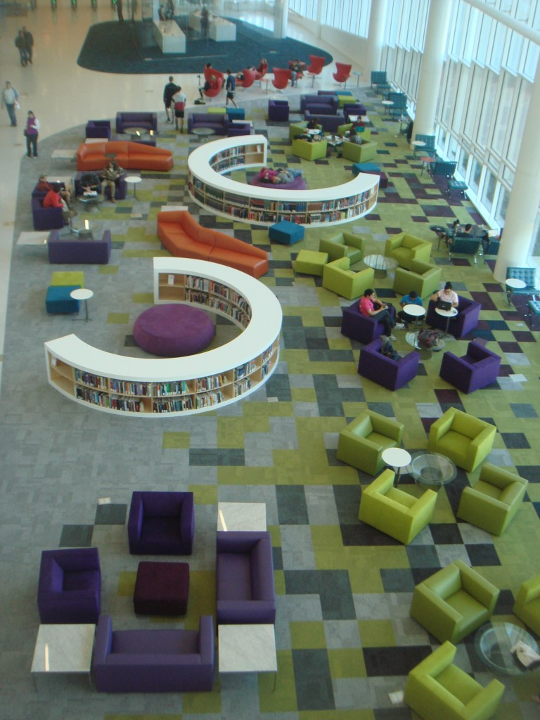 James B Hunt Library NCSU