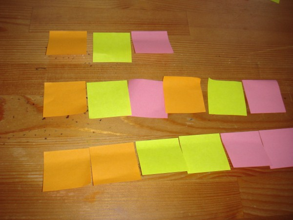 PostIt pattern math