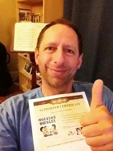 Dor Abrahamson Supporter Certificate