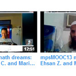 mpsMOOC13 Observer June 27: Sign up, course space, math dreams