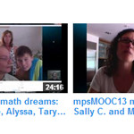 mpsMOOC13 Observer July 5: Sign-up; why and how; calculus for seven-year-olds