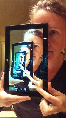 iPad Droste Effect