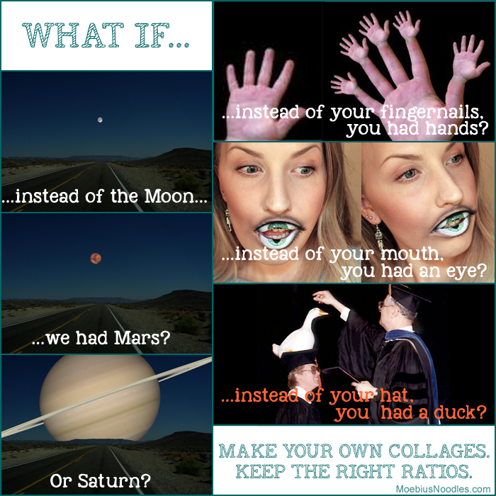 What if: Ratio collages