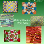 Optical Illusions Grid