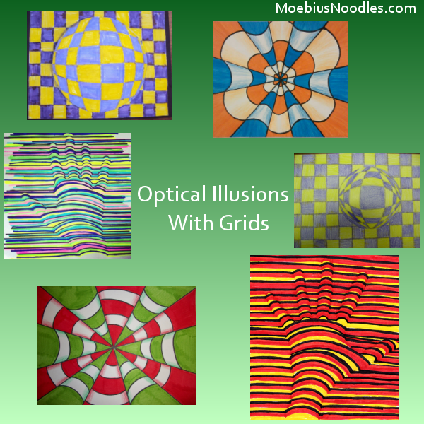 3D Illusions with Easy Grids - Natural Math