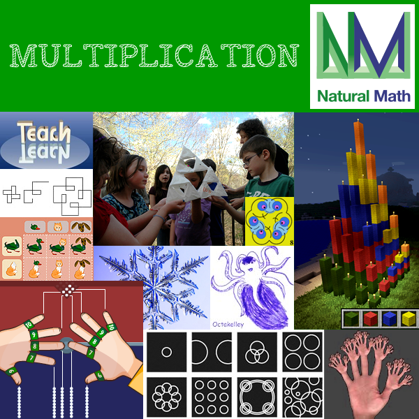 Natural Math Multiplication