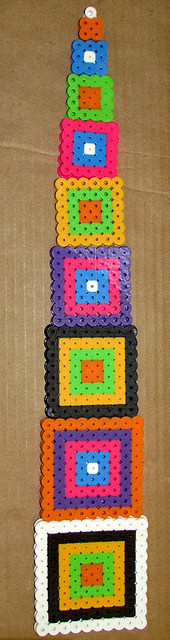 How to Make Multiplication Tables with Perler Beads