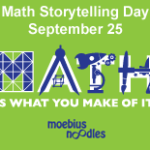 Live online events, 1001 Circles, Math Storytelling Day: Newsletter September 2, 2014