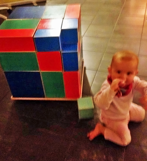 Baby Trinomial Cube