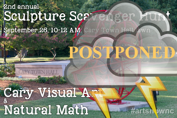 Sculpture Tour-2015 Postponed