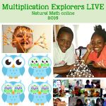 Multiplication Explorers LIVE March 28-20, bloggers at play, book bundle sale: Newsletter March 19, 2016