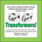 tranformers summer camp