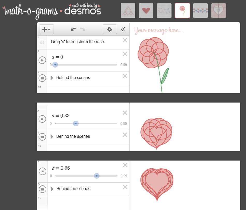 Math-o-gram Desmos