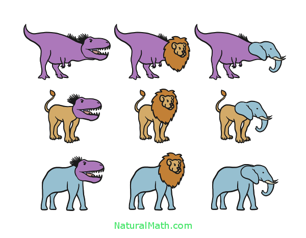 Combinatorics Animals NaturalMath