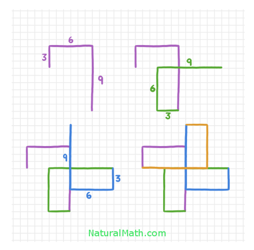 Spirolaterals NaturalMath